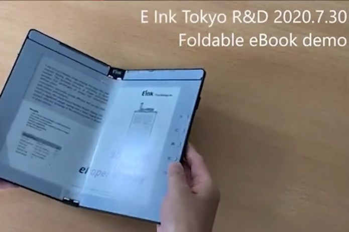 Check Out the First Prototype of a Foldable e-Reader by E Ink