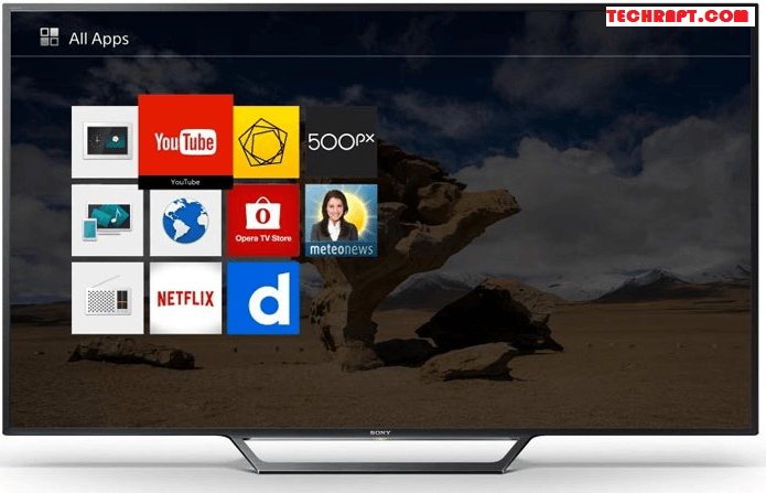 Best Sony Smart TV Apps List 2018