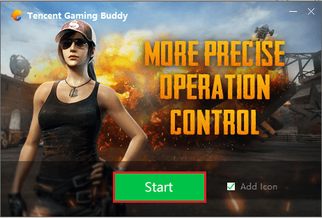 Start Tencent PUBG Mobile PC Emulator