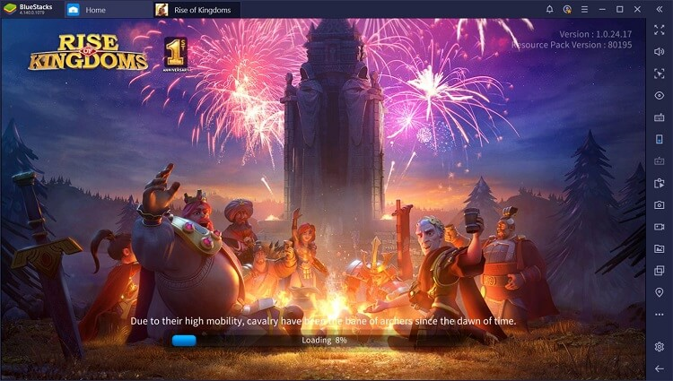 Rise of Kingdoms for PC with BlueStacks Macros_1
