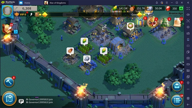 Rise of Kingdoms for PC with BlueStacks Macros_5