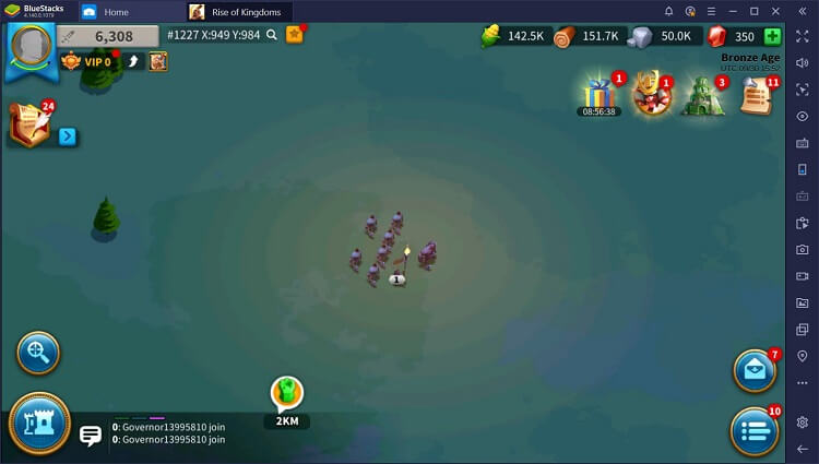 Rise of Kingdoms for PC with BlueStacks Macros_6
