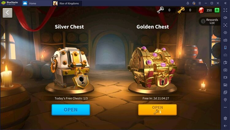 Rise of Kingdoms for PC with BlueStacks Macros_8
