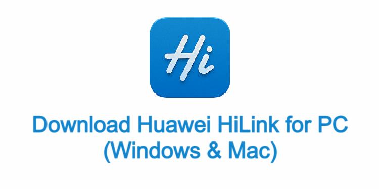 Huawei HiLink fo PC