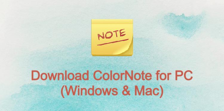 ColorNote for PC