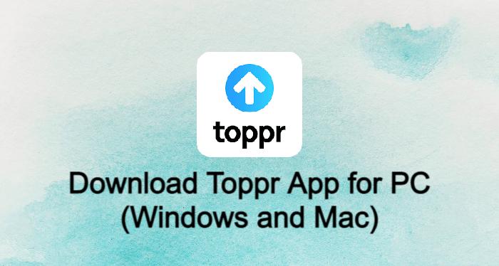 Toppr App for PC