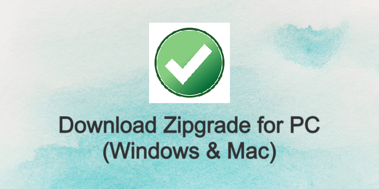 Zipgrade for PC