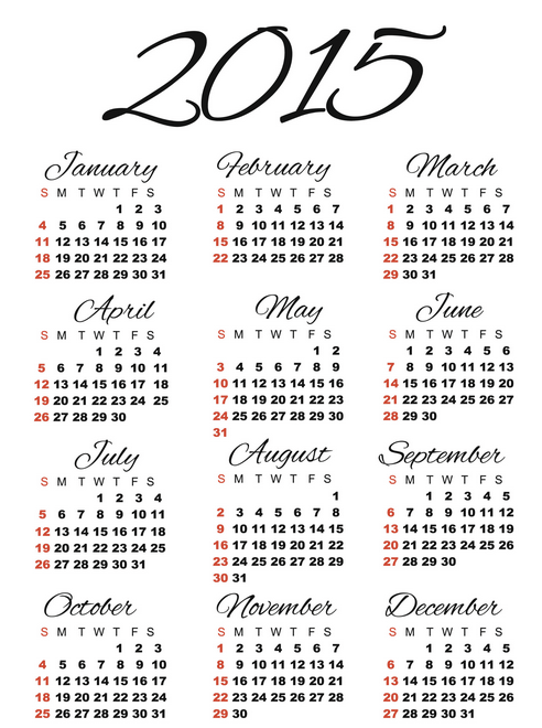 Best 2015 Calendar HD Wallpapers 18