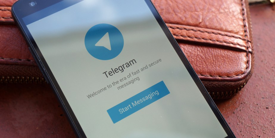 Telegram-messaging