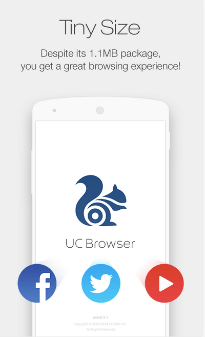 UC Browser Mini APK 2