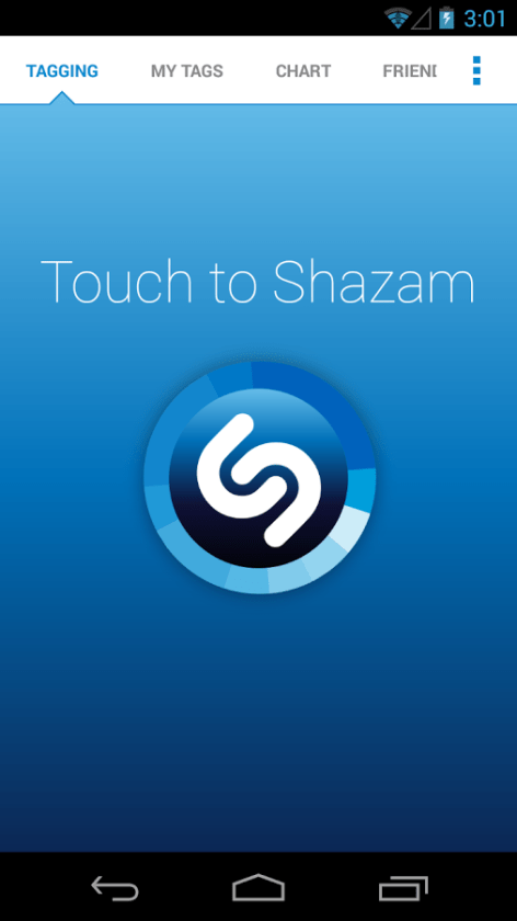 shazam screenshotshazam screenshot