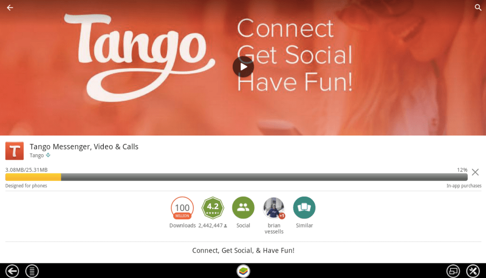 Tango Messenger for PC 5