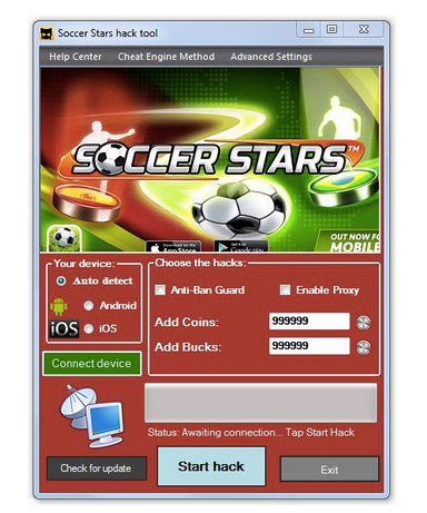 Soccer Stars Hack / Mod APK Download for Android (Cheats)