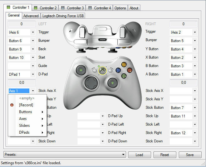 Download x360ce - XBOX 360 Controller Emulator for Windows 7