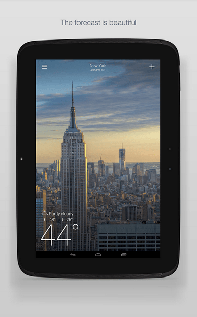 Yahoo Weather APK 2
