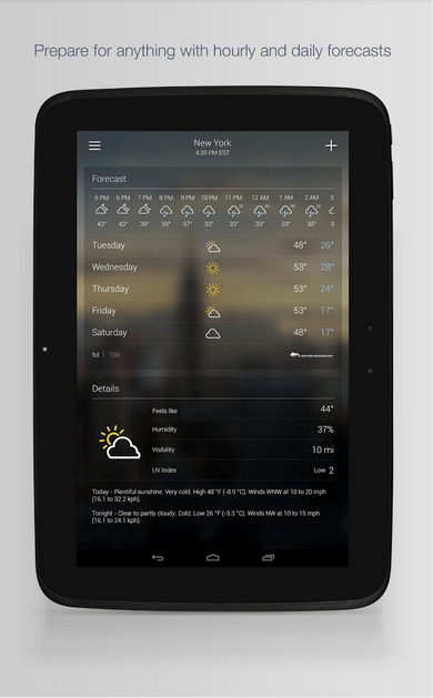 Yahoo Weather APK 3