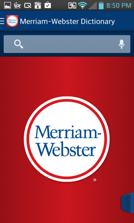 merriam webster apk