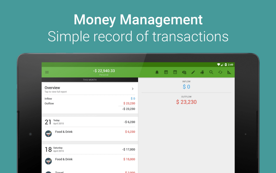Money Lover APK 2