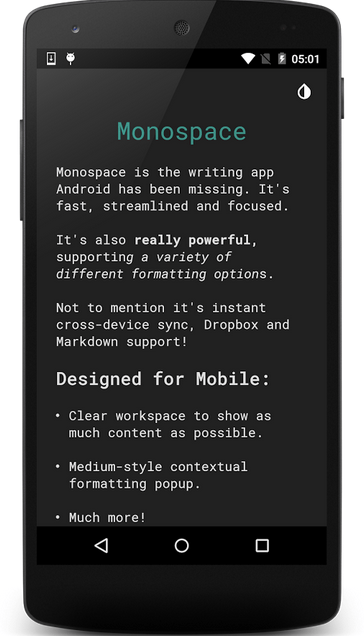 Monospace BETA APK 2