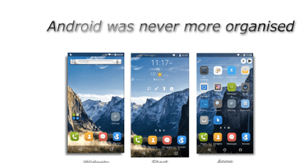 Waterdrop Launcher APK 2