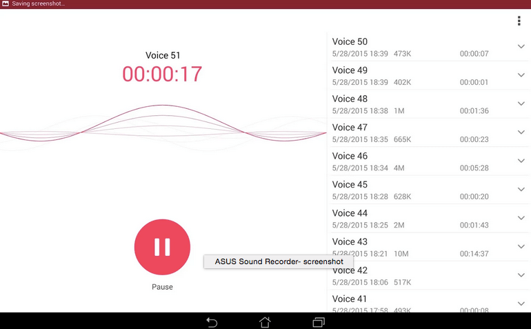ASUS Sound Recorder APK 2