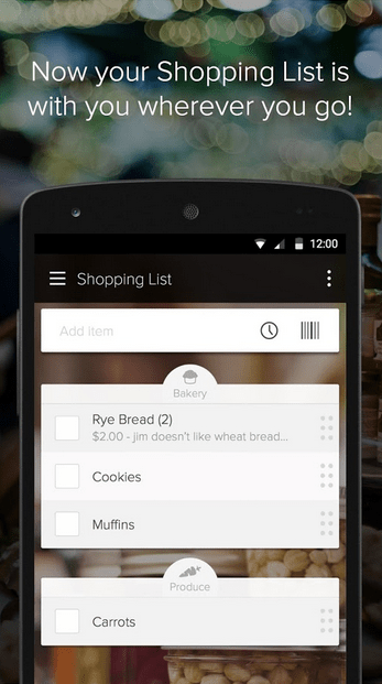 Out of Milk Shopping List APK 2