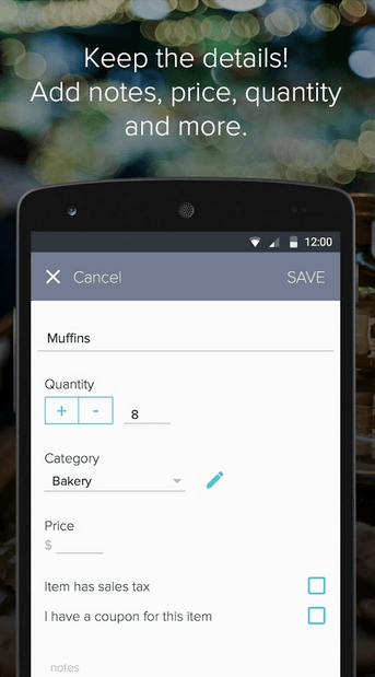 Out of Milk Shopping List APK 4