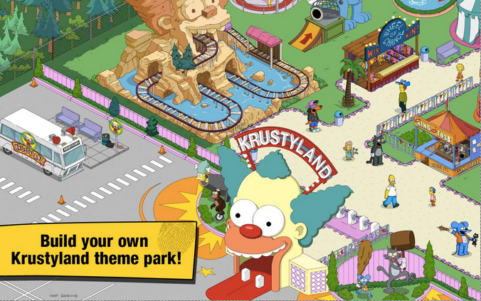 The Simpsons Tapped Out APK 2