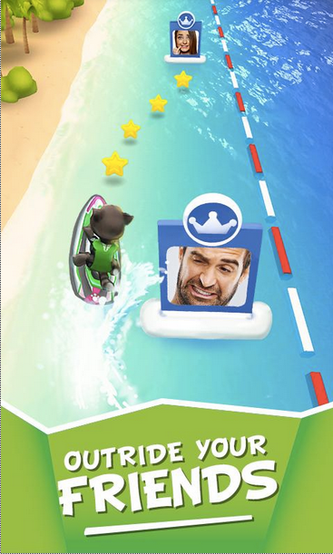 Talking Tom Jetski APK 4