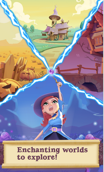 Bubble Witch 2 Saga APK 3