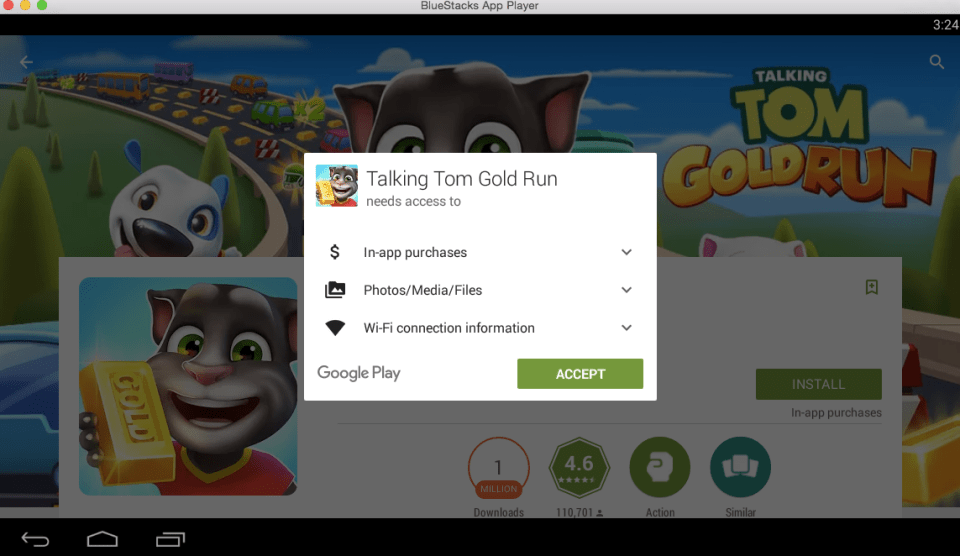 Talking Tom Gold Run for PC 6
