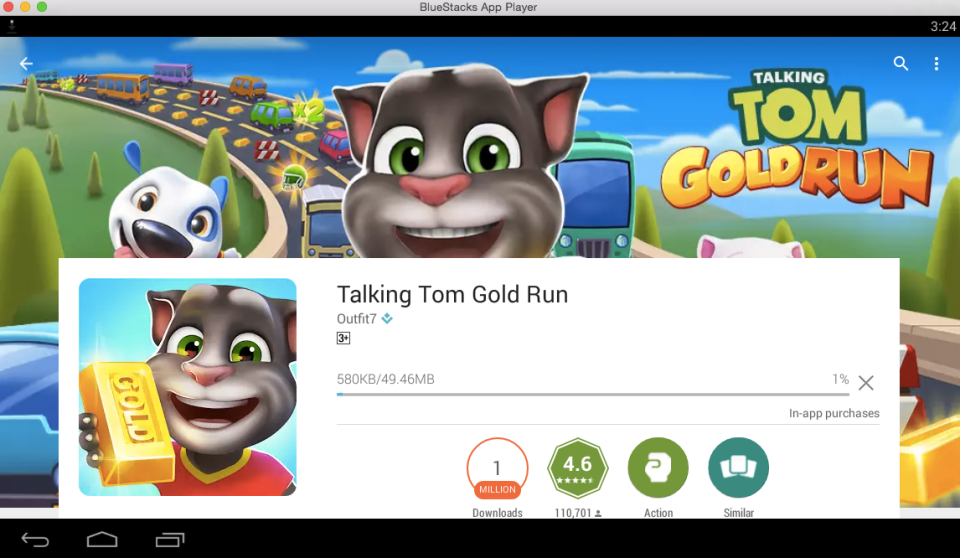 Talking Tom Gold Run for PC 7
