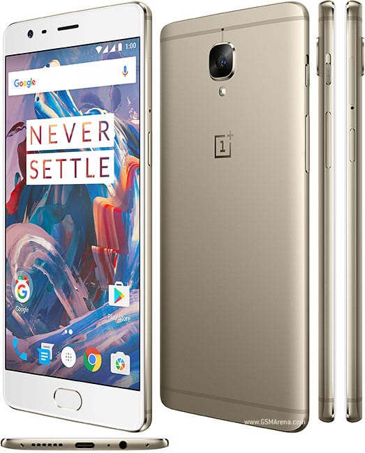 OnePlus 3T gold version