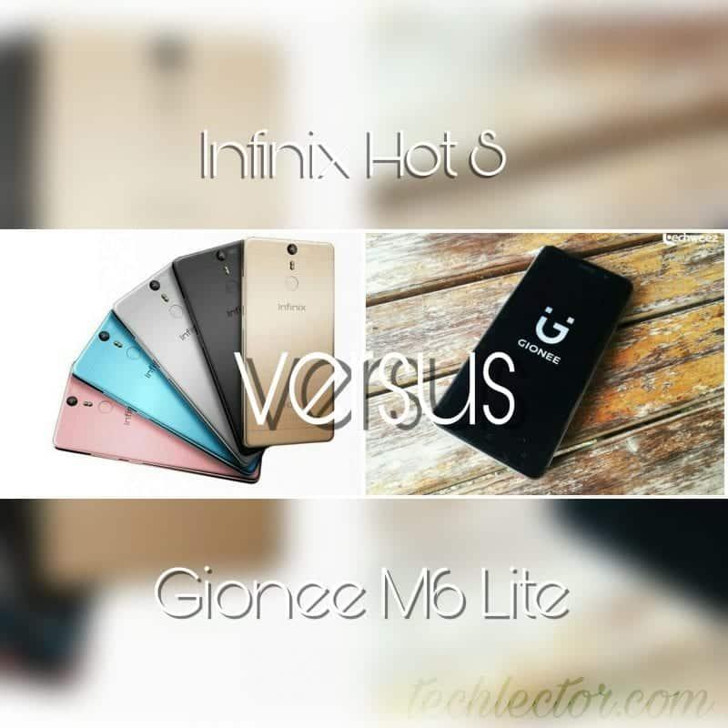 Infinix Hot S vs Gionee M6 Lite