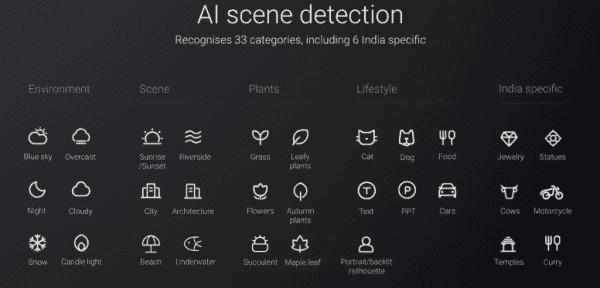 redmi 7a ai scene detection update
