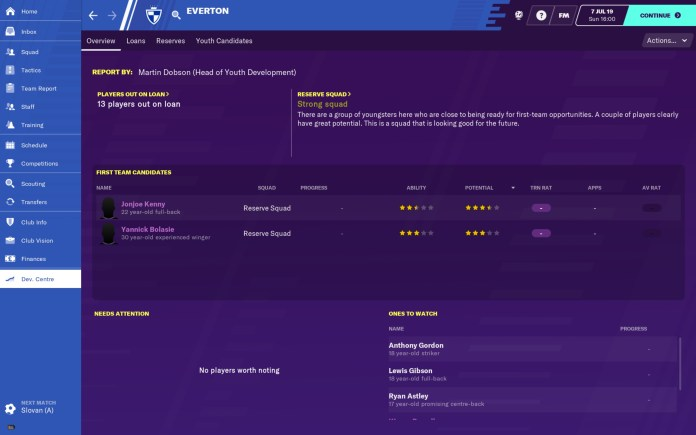 Football Manager 2020 Mobile 4