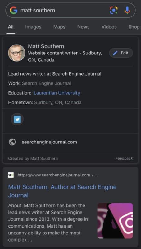 Google Add Me To Search Virtual Google Card