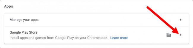 Check Android Version Chromebook