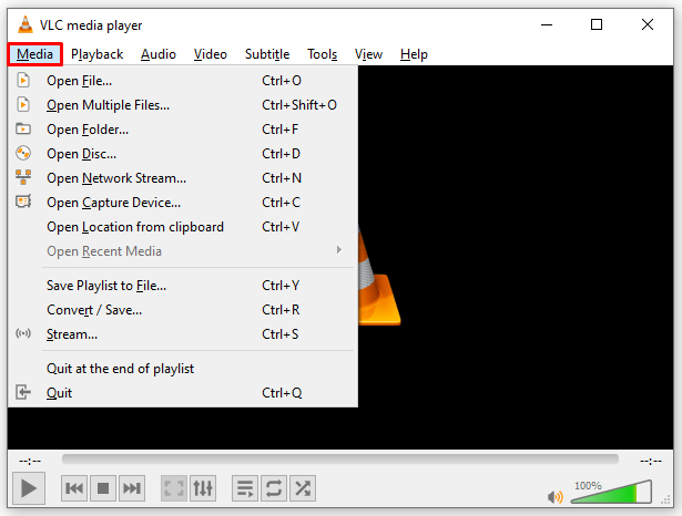 Delete Viewing History VLC