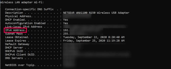 Find Server IP Address Minecraft