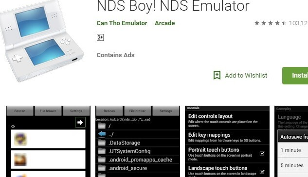 Nds Boy Nds Emulator