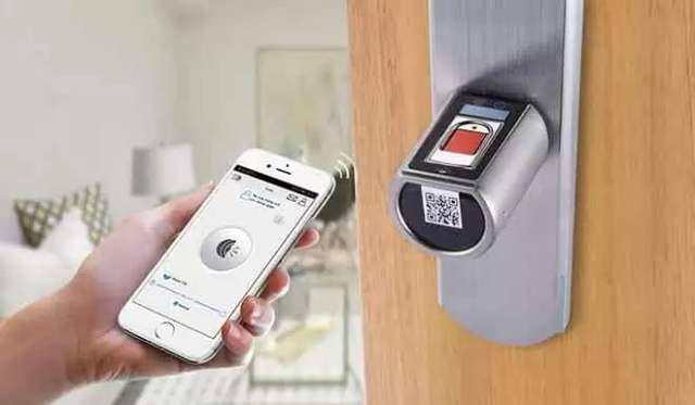 We Lock Smart Lock With Fingerprint