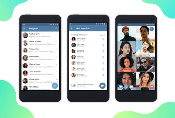 Telegram Group Video Calls