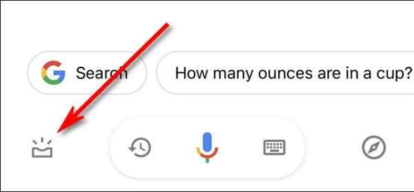 Google Click Visual Snapshot Button