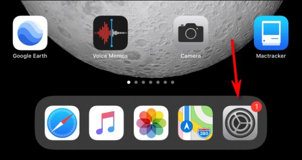 Launch Settings Ipad