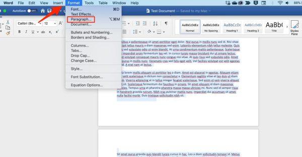 Remove Page Break Microsoft Word