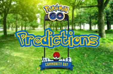 pokemon go community day predictions