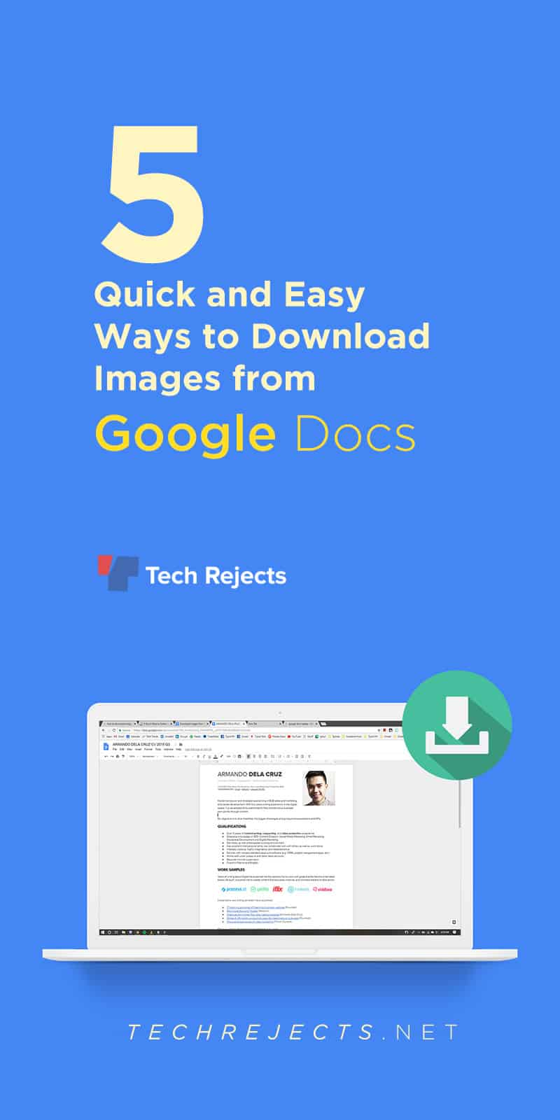 Download Images from Google Docs: 3 Quick and Easy Ways