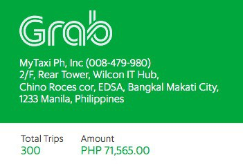 How to Check Your Grab Expenses Summary