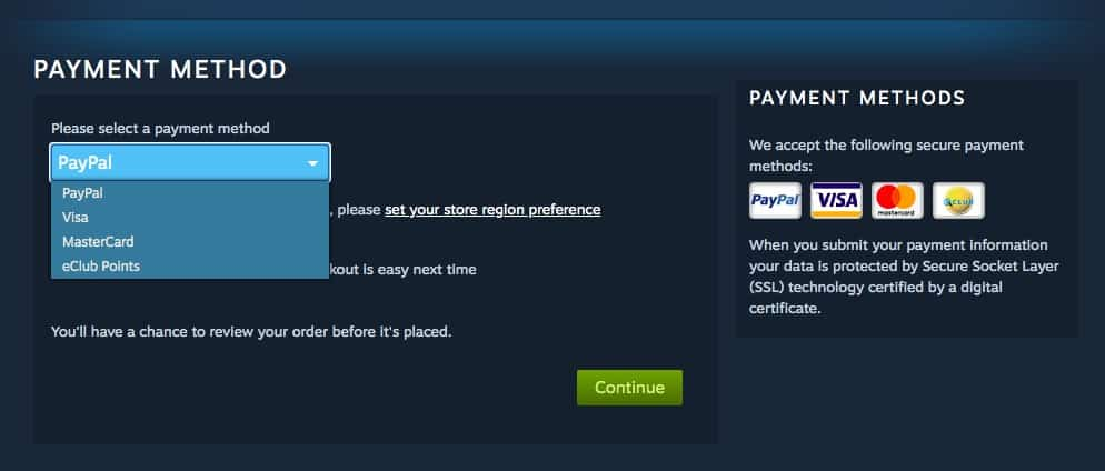 steam payment methods philippines